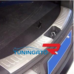 Декоративная накладка под заднию дверь багажника ix35
