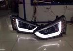 Тюнинговые фары для Hyundai IX45 2014г.