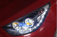 Тюнинговая оптика на Hyundai ix35