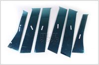 Хром накладки на дверные стойки для MITSUBISHI OUTLANDER (2012-)