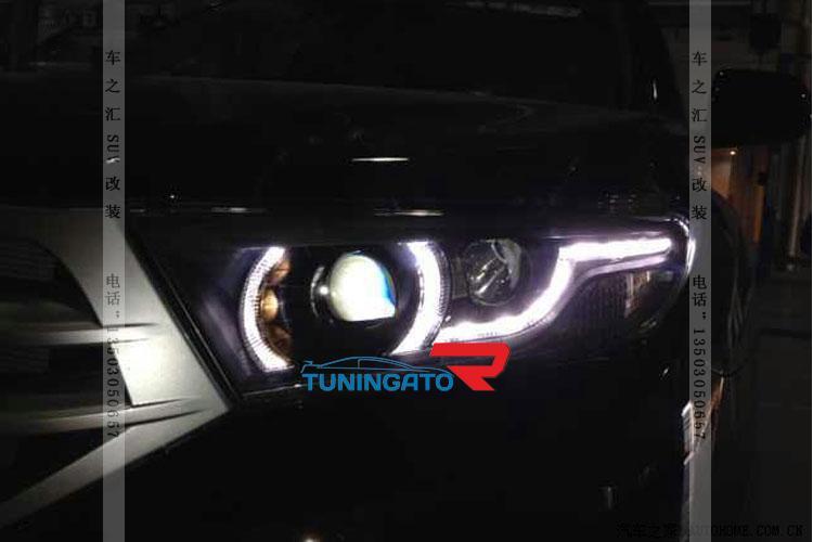 Фары тюнинговые для Toyota Highlander 2011-14г.