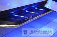 Подножки боковые с подсветкой для Infiniti FX35 (2008-)