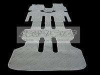Коврики ворсовые в салон D. I Planning комплект Toyota Alphard 08г.-