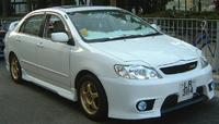 Аеродинамический обвес, комплект для Corolla 2001-2004