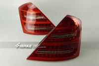 Диодные стоп-сигналы smoke для Mercedes Benz W221 S550/S600
