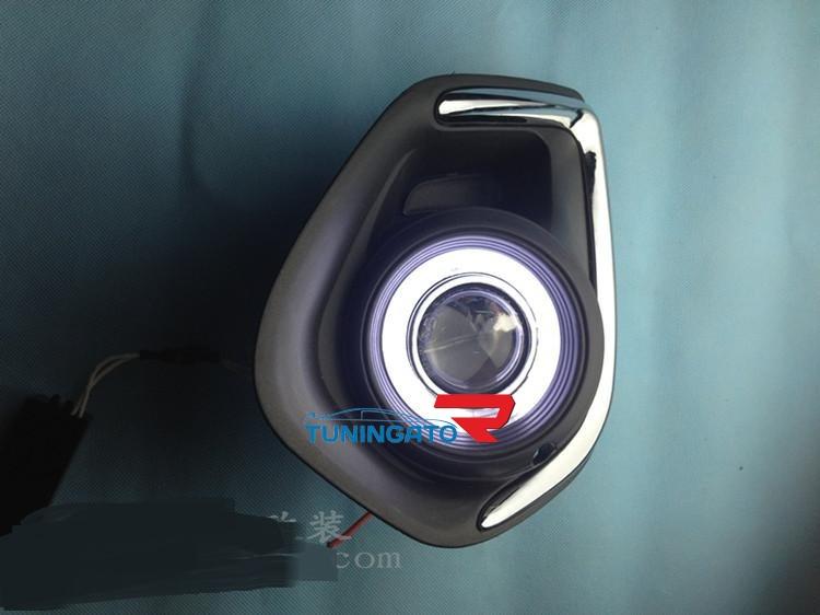 Противотуманные фары ангельские глазки для MMC ASX 2010-