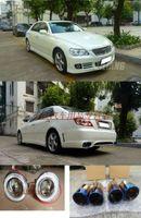 Тюнинг комплект из 5ти - предметов, обвес Vertex (передний бампер, пороги, задний бампер, туманки 2шт., насадки на глушитель 2шт.) Тайланд  на Toyota Mark X (05-08г.