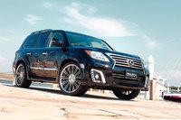 Аеродинамический обвес WALD для Lexus LX570 08-2012г.+
