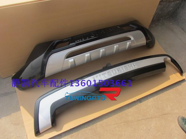 Накладки на бампера для MMC ASX 2010+ \ RVR 2010г.+