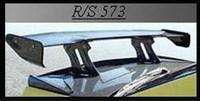 Спойлер на заднию крышку богажника VARIS, высокий, карбоновый , пластик, для Toyota Mark2 (88-92г.)