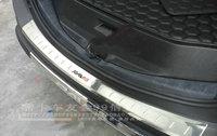 Хромированная накладка на задний бампер для RAV4 2013г.