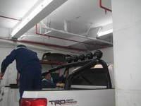 Дуга в кузов черная для Toyota Tundra 2014г.-