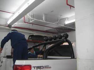 Дуга в кузов черная для Toyota Tundra 2007г.