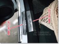 Хромированные накладки на пороги  Nissan Qashqai\ Dualis