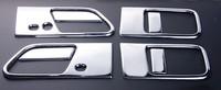 Хромированные накладки на ручки дверей для Nissan Elgrand 03-10г.