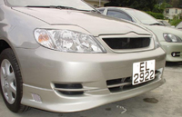 Накладка на передний бампер Fortuna, материал стеклопластик FRP, новый для Corolla 2004-2006