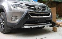 Накладки на передний и задний бампер для RAV4 2013г.