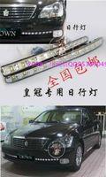 Ходовые огни, диодные LED, в решотку переднего бампера, для Toyota Crown 2004-2008г.