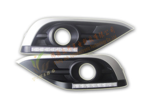 Ходовые огни в накладках Honda CR-V 2012