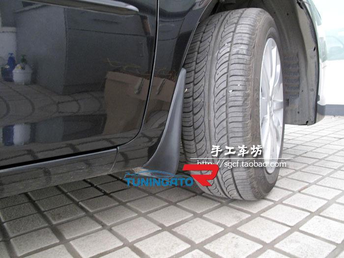 Брызговики комплект для Mazda Demio 2007-14г.
