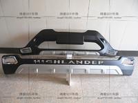 Накладки на бампера для Toyota Highlander 2011-14г.