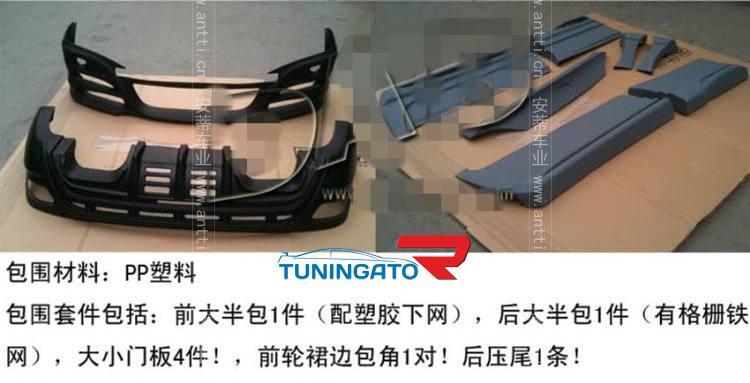 Аэродинамический комплект WALD  для RX 350/450
