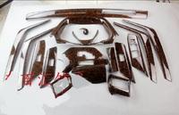 Декоративные накладки под дерево в салон на RAV4