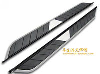 Подножки боковые с хромом для Infiniti FX35 (2008+)