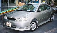 Накладка на передний бампер, материал стеклопластик FRP, новый для Corolla 2004-2006