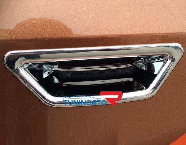 Хром накладка на ручку багажника для Nissan X-trail 2014-