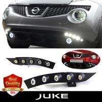 Ходовые огни LED в бампер для Nissan Juke