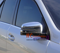 Хром накладки на зеркала для Mercedes GL (2009-13)