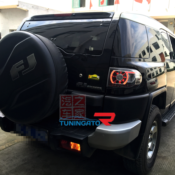 Стоп-сигналы светодиодные в стиле Range Rover для TOYOTA FJ CRUISER