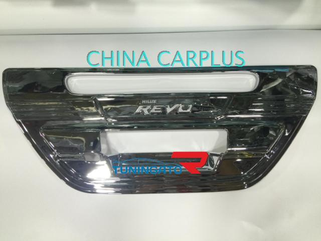 Хром накладка на ручку багажника для Toyota Hilux 2015+