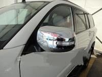Хром накладки на зеркала под повторители поворотов для MMC Pajero Sport 2008-