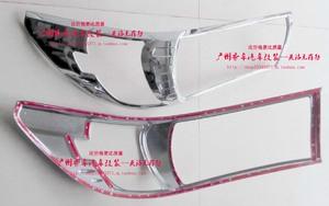 Хром накладки на фары для Toyota Hilux Revo 2015+