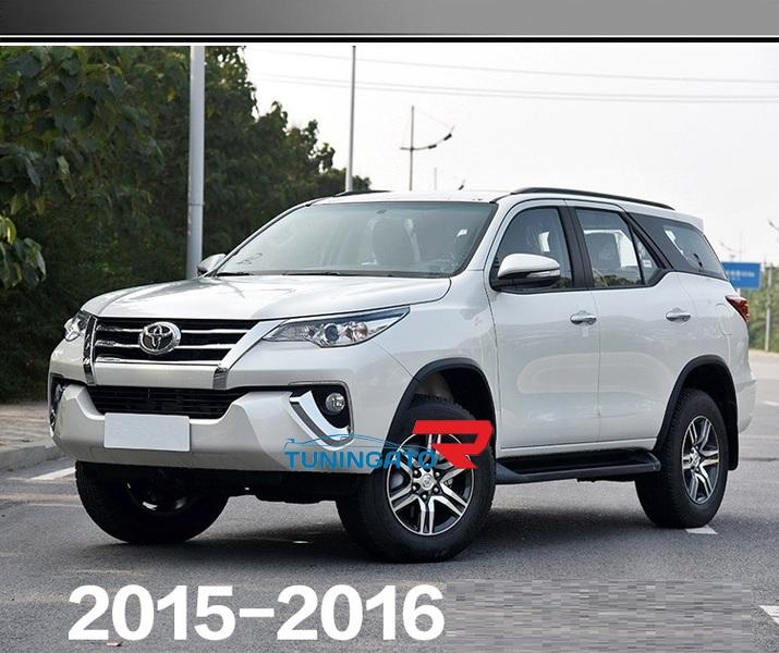Хром накладки кузова для Toyota Fortuner 2015-