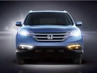Накладки на туманки с LED огнями для Honda CR-V 2012
