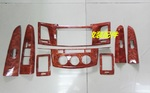 Накладки под дерево в салон объемные (Декоративные) 760 HILUX VIGO PICK UP 2011-