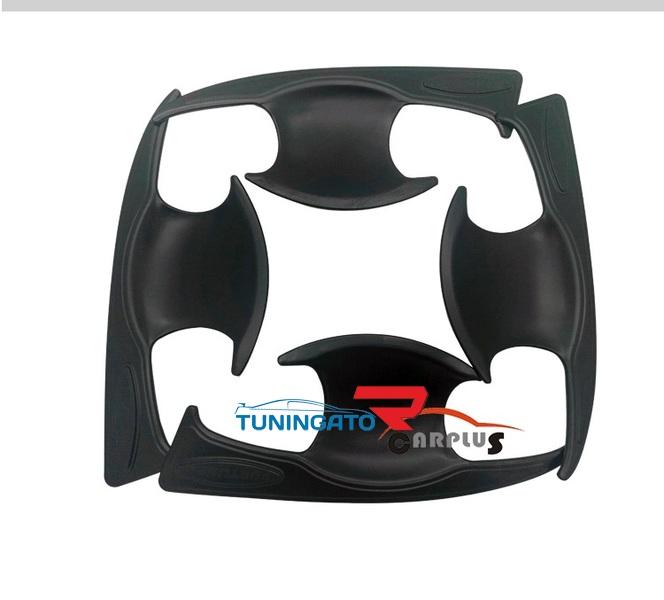 Накладки кузова черные для Toyota Fortuner 2015-