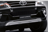 Защиты бампера пластик для Toyota Fortuner 2015-