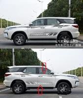 Оракал на борта кузова наклейка для Toyota Fortuner 2015г.