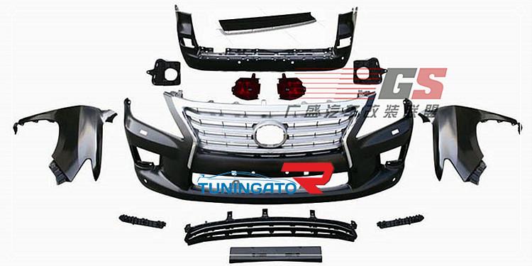 Комплект рестайлинга для Lexus LX 570