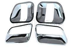 Хром накладки под ручки дверей для Toyota Hice 200