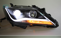 Фары тюнинг V2 для Toyota Camry 2011-14г. V50
