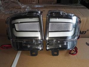 Диодные фонари в задний бампер BLACK для Land Cruiser 200 16-