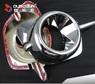 Хром накладки на туманки для MMC Pajero Sport 2013-