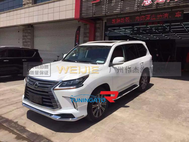"""Аеродинамический обвес """"Modellista"""" Тайвань для Lexus LX570 2015+"""