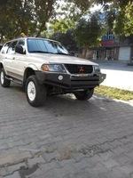 Бампер передний металлический 1В для Mitsubishi Challenger\Pajero Sport 96-04г.