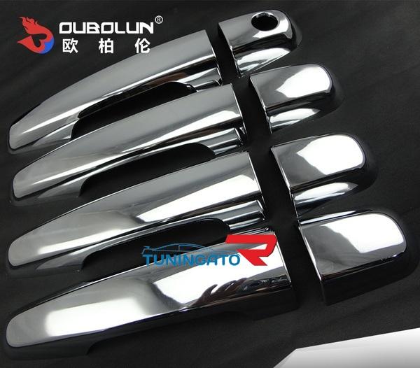 Хром накладки на ручки для MMC Pajero Sport 2008-